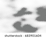 abstract halftone dotted... | Shutterstock .eps vector #683901604