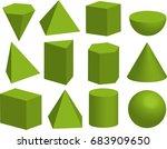 Basic 3d Geometric Shapes....