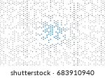 dark blue vector red pattern of ... | Shutterstock .eps vector #683910940