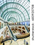 dubai  uae   april 07  mall of... | Shutterstock . vector #683920708