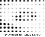 abstract halftone dotted... | Shutterstock .eps vector #683952790