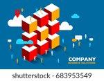 vector creative illustration of ... | Shutterstock .eps vector #683953549
