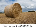 Small photo of A very large haybale