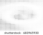 abstract halftone dotted... | Shutterstock .eps vector #683965930
