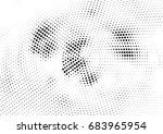 abstract halftone dotted... | Shutterstock .eps vector #683965954
