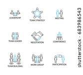 icon set  team management...
