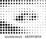 abstract halftone dotted... | Shutterstock .eps vector #683993854