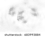 abstract halftone dotted... | Shutterstock .eps vector #683993884