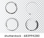 vector frames. circle for image.... | Shutterstock .eps vector #683994280