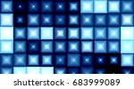 blinking block lights   Shutterstock . vector #683999089