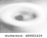 abstract halftone dotted... | Shutterstock .eps vector #684001624