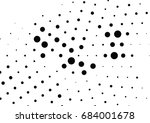 abstract halftone dotted... | Shutterstock .eps vector #684001678