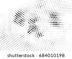 abstract halftone dotted... | Shutterstock .eps vector #684010198