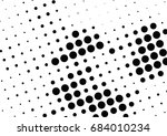 abstract halftone dotted... | Shutterstock .eps vector #684010234