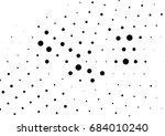 abstract halftone dotted... | Shutterstock .eps vector #684010240