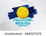 vector  illustration of water... | Shutterstock .eps vector #684027670