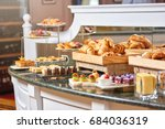 a variety of freshly made... | Shutterstock . vector #684036319