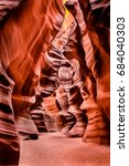 View Of Upper Antelope Canyon ...