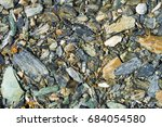 colored stones beautiful small... | Shutterstock . vector #684054580