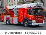 Paris  France October 16  Fire...