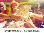 leisure  holidays  eating ... | Shutterstock . vector #684065038