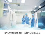 surgery  medicine and people... | Shutterstock . vector #684065113