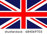 british flag vector background | Shutterstock .eps vector #684069703