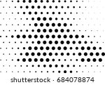 abstract halftone dotted... | Shutterstock .eps vector #684078874