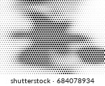 abstract halftone dotted... | Shutterstock .eps vector #684078934