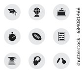 set of 9 editable teach icons....