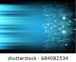 vector circuit design on... | Shutterstock .eps vector #684082534