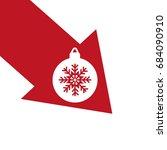 christmas tree balls  icon | Shutterstock .eps vector #684090910