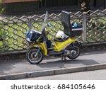 milan  italy   circa july 2017  ... | Shutterstock . vector #684105646