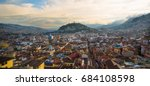 view of the historic center of... | Shutterstock . vector #684108598