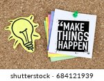 Success And Motivation Concept...