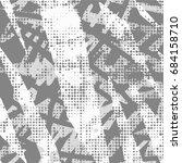 ink print distress background . ... | Shutterstock .eps vector #684158710