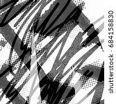 ink print distress background . ... | Shutterstock .eps vector #684158830