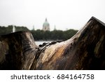 Stock photo you can see the building dome of rathaus it s a city hall and was opened on july after 684164758