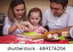 cooking is fun. happy mather... | Shutterstock . vector #684176206