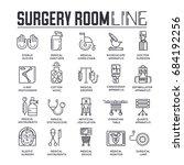 doctors making surgery vector... | Shutterstock .eps vector #684192256