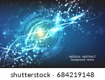 abstract vector background... | Shutterstock .eps vector #684219148
