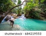 luang prabang  laos   march 10  ... | Shutterstock . vector #684219553