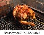 homemade roast chicken | Shutterstock . vector #684223360