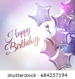 Happy Birthday Background With...