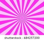 sunburst background.... | Shutterstock . vector #684257200