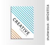 design vector cover book... | Shutterstock .eps vector #684265516