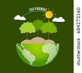 eco friendly. ecology concept...