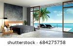 Modern Loft  Interior Of...