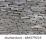 stone stag wall pattern texture | Shutterstock . vector #684279214