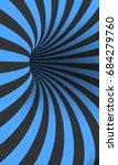 illustration of vector tunnel... | Shutterstock .eps vector #684279760
